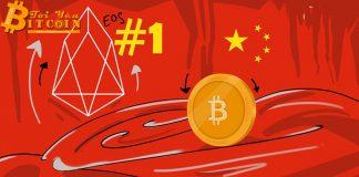 """Trung Quốc xếp hạng blockchain lần thứ 5: EOS """"bất khả chiến bại"""""""