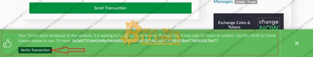Rút tiền ETC từ ví ClassicEtherWallet. Ảnh 4