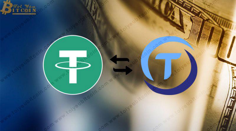 TrueUSD và Tether