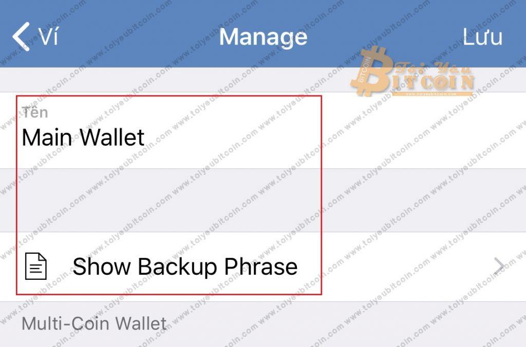 Tạo địa chỉ ví mới trên Trust Wallet. Ảnh 8