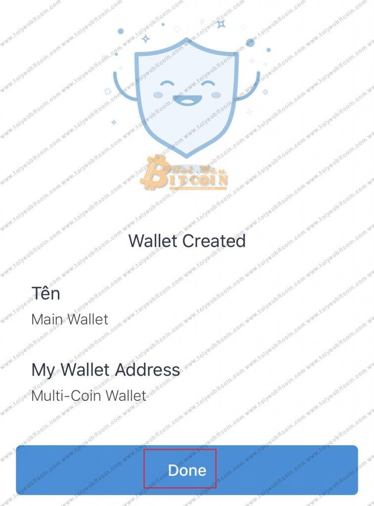 Tạo ví Trust Wallet trên điện thoại. Ảnh 4
