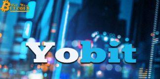 Sàn Yobit dành 10 BTC mỗi ngày để pump coin