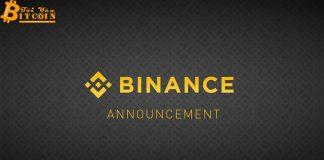 Binance xoá bỏ niêm yết Bytecoin, Chatcoin, Iconomi, Triggers