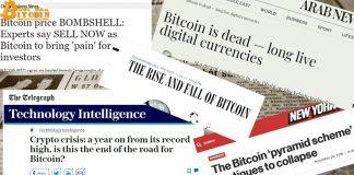 Nếu yêu thích Bitcoin, đừng nên đọc các báo chính thống?