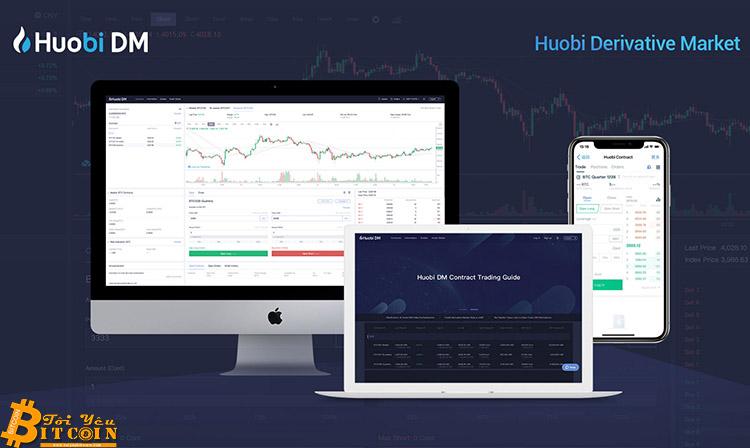 Sàn Huobi thông báo thiết lập thị trường phái sinh Huobi DM