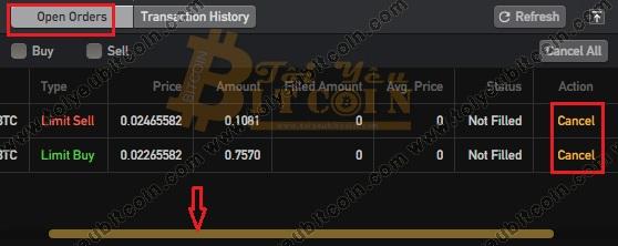 Cách trade coin trên sàn BitForex. Ảnh 7