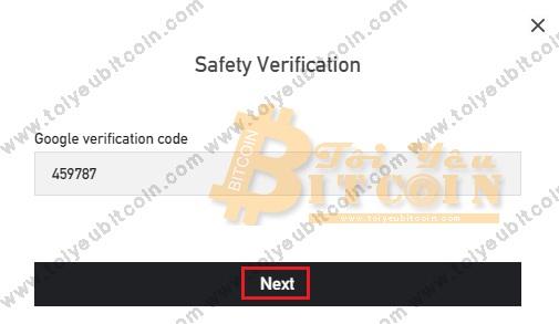 Bảo mật tài khoản BitForex. Ảnh 6