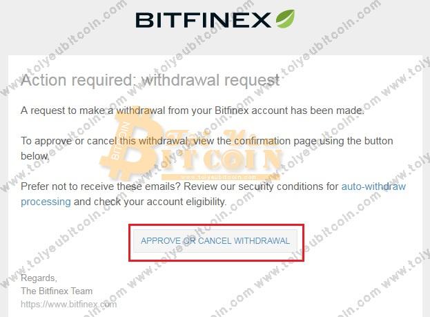 Rút tiền từ sàn Bitfinex. Ảnh 7