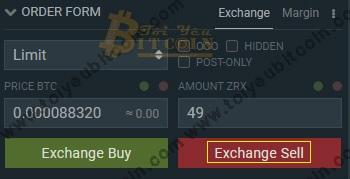 Cách trade coin trên sàn Bitfinex. Ảnh 4