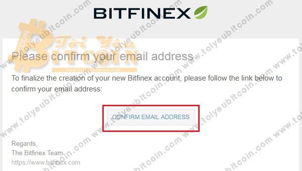 Đăng ký mở tài khoản Bitfinex. Ảnh 4