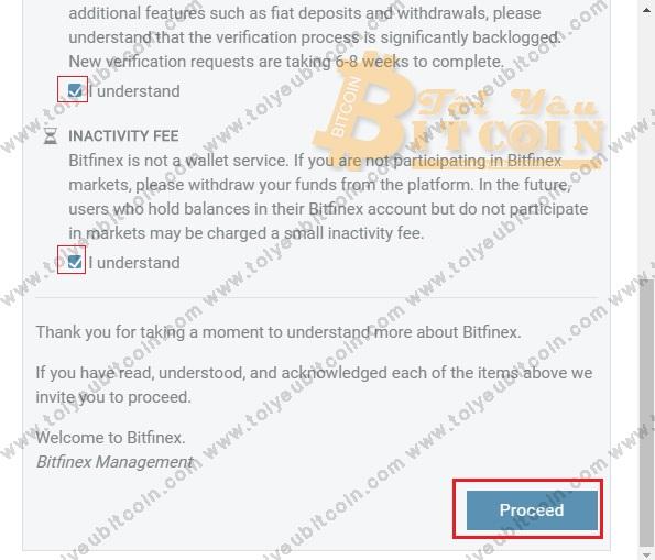 Đăng ký mở tài khoản Bitfinex. Ảnh 2