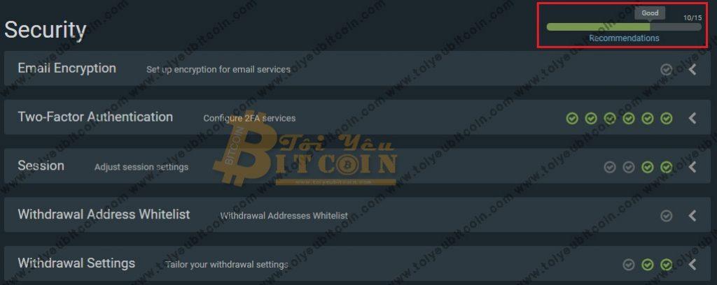 Bảo mật tài khoản sàn Bitfinex. Ảnh 10