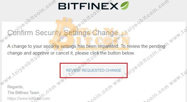 Bảo mật tài khoản sàn Bitfinex. Ảnh 8