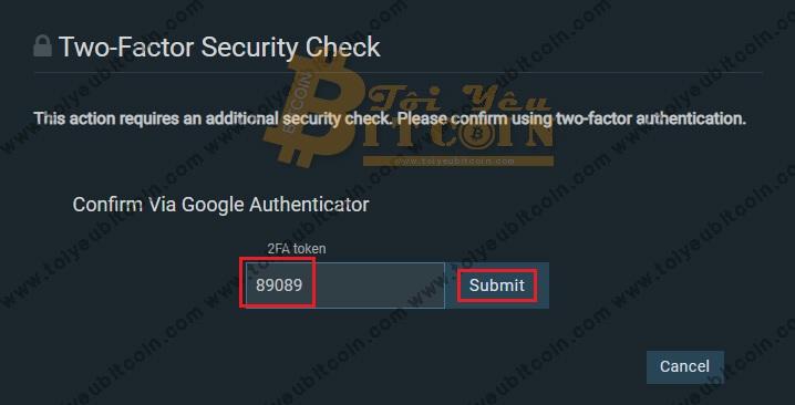 Bảo mật tài khoản sàn Bitfinex. Ảnh 7