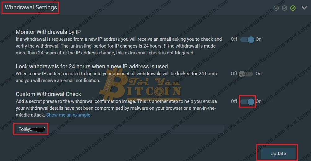 Bảo mật tài khoản sàn Bitfinex. Ảnh 6