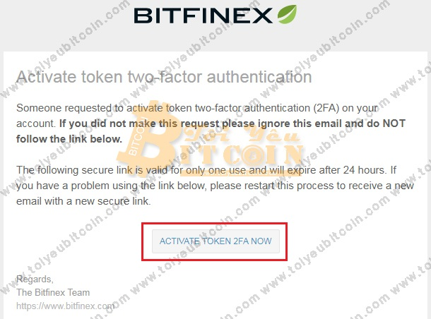 Bảo mật tài khoản sàn Bitfinex. Ảnh 5