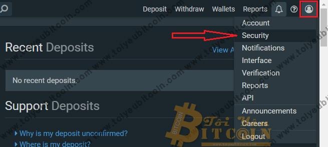 Bảo mật tài khoản sàn Bitfinex. Ảnh 1