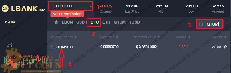 Cách trade coin trên sàn LBank. Ảnh 3