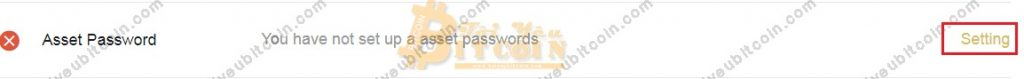 Cài đặt mật khẩu rút tiền LBank. Ảnh 1