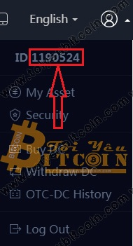 Cách lấy ID tài khoản DragonEX
