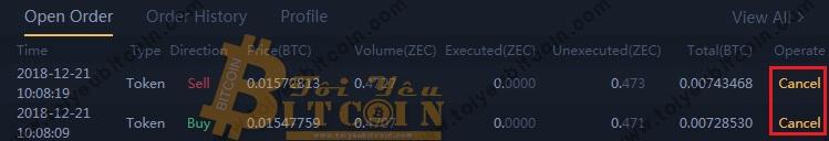 Cách trade coin trên DragonEX. Ảnh 7