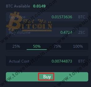 Cách trade coin trên DragonEX. Ảnh 4