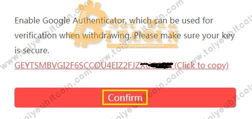 Bật bảo mật 2FA tài khoản DragonEX. Ảnh 2