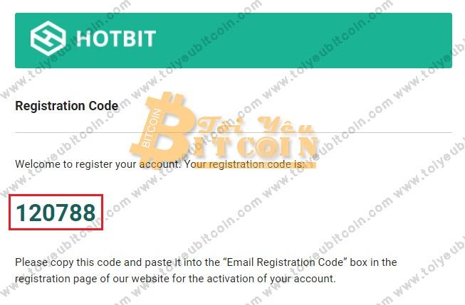 Đăng ký tạo tài khoản sàn Hotbit. Ảnh 2