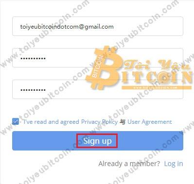 Đăng ký mở tài khoản Bibox. Ảnh 1