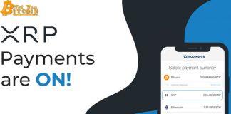 Cổng thanh toán tiền điện tử CoinGate hỗ trợ Ripple XRP