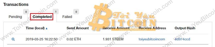 Đăng ký tài khoản ví Steemit trả phí. Ảnh 7