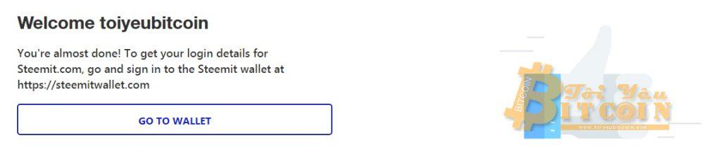 Tạo tài khoản ví Steem coin trên Steemit miễn phí. Ảnh 14