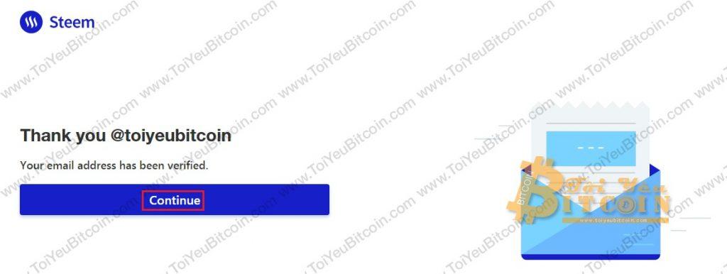 Tạo tài khoản ví Steem coin trên Steemit miễn phí. Ảnh 7