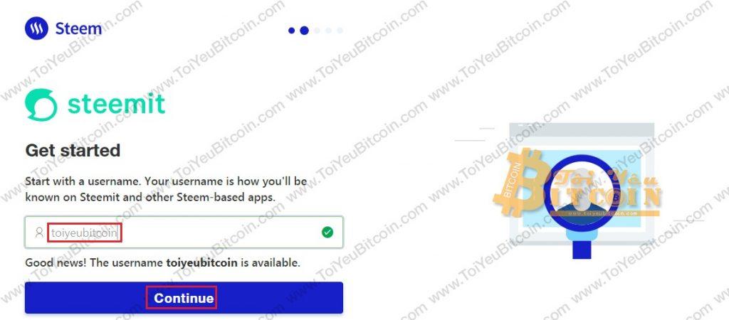 Tạo tài khoản ví Steem coin trên Steemit miễn phí. Ảnh 3