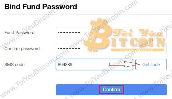 Thiết lập Fund password trên sàn CoinAll. Ảnh 2