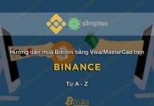 Mua Bitcoin bằng thẻ tín dụng Visa và MasterCard