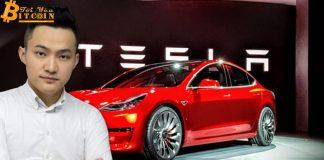 Justin Sun airdrop 20 triệu đô tiền mặt và chiếc Tesla xịn xò cho người dùng Twitter