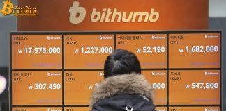 Sàn giao dịch Hàn Quốc Bithumb báo lỗ 180 triệu đô trong năm 2018