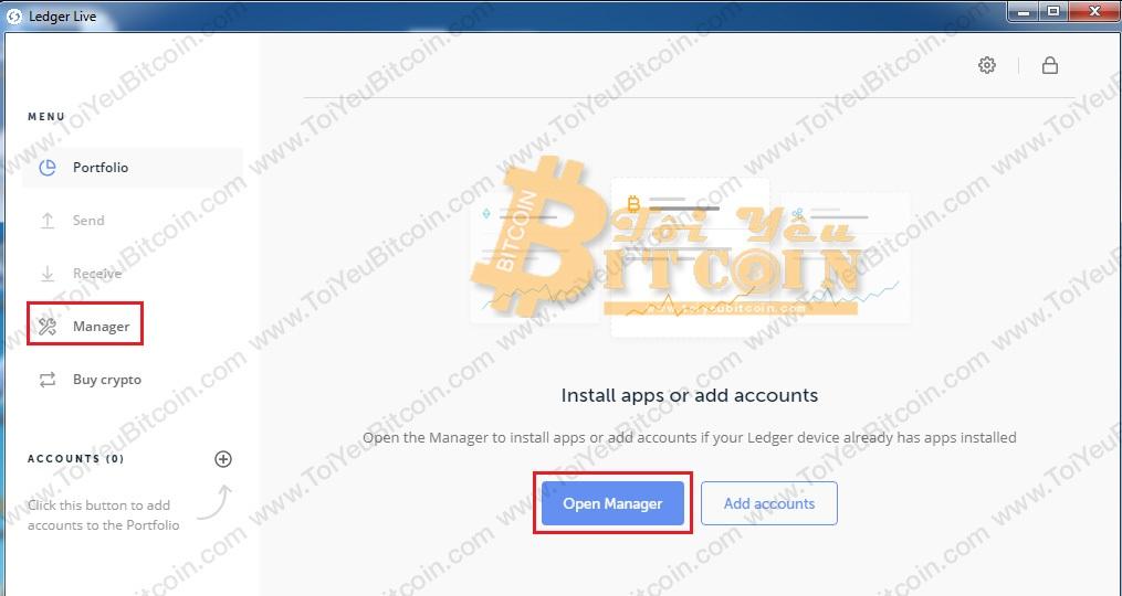 Cách thêm ví Bitcoin vào Ledger Live. Ảnh 3