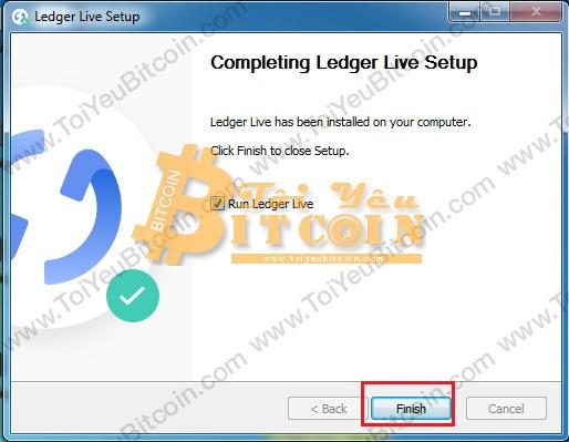 Cài đặt Ledger Live trên máy tính. Ảnh 4