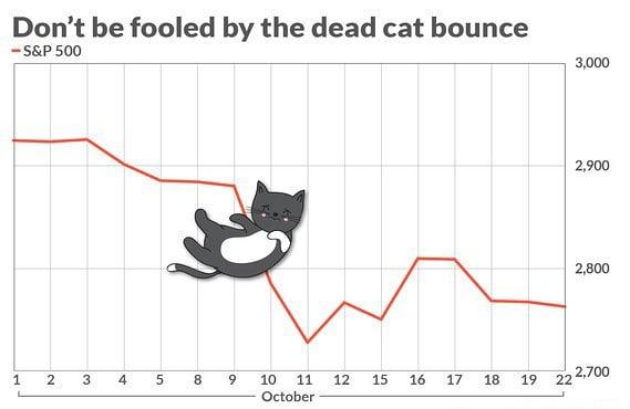 Giá Bitcoin tăng mạnh chỉ là cú nhảy mèo chết mà thôi!