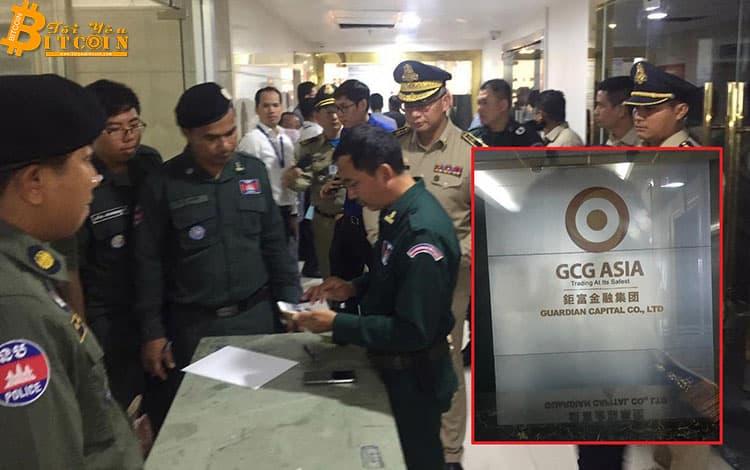 Chủ sở hữu công ty TNHH GCG Asia tại Phnom Penh bị bắt