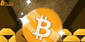 Vàng phá vỡ kháng cự có thể khiến giá Bitcoin vượt qua mức $12.000