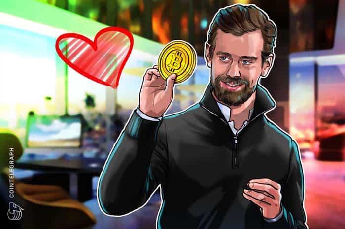 """CEO Twitter & Square Jack Dorsey: """"Chúng tôi yêu bạn...Bitcoin"""""""