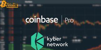 Coinbase Pro thông báo niêm yết Kyber Network (KNC), giá KNC tăng vọt 17%