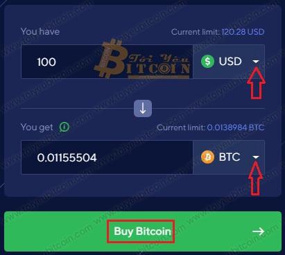 Cach mua Bitcoin trên Switchere. Ảnh 1