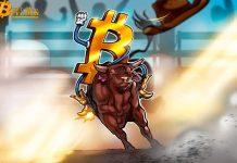 Giá Bitcoin tăng cao hơn nhưng cần đạt $8.000 để bắt đầu một thị trường tăng giá