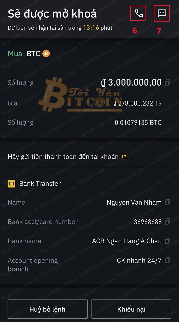 Cách mua tiền điện tử bằng VND trên Binance P2P. Ảnh 9