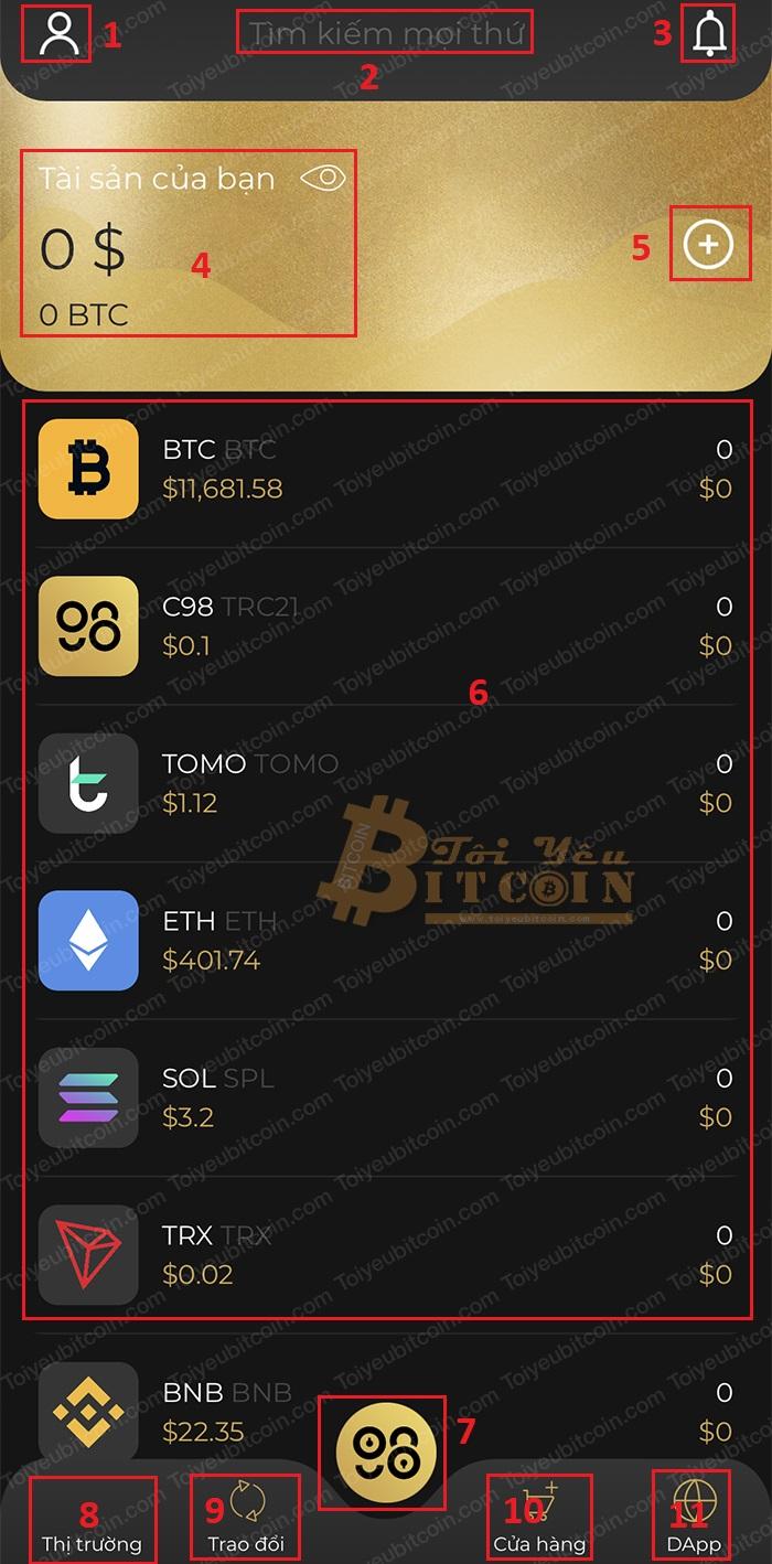 Cách tạo ví trên Coin98 wallet. Ảnh 4
