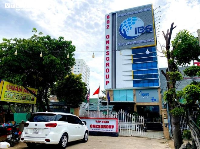 Trụ sở của IBG Việt Nam tại số 602 Phạm Văn Đồng (phường Hiệp Bình Chánh, quận Thủ Đức, TP.HCM).